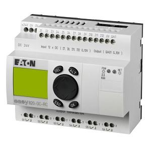 EASY800 alimentación 24Vdc, 12DI (4 pueden ser Análogas),  8DO Transistor, reloj tiempo real - EASY800 alimentación 24Vdc, 12DI (4 pueden ser Análogas),  8DO Transistor, reloj tiempo real