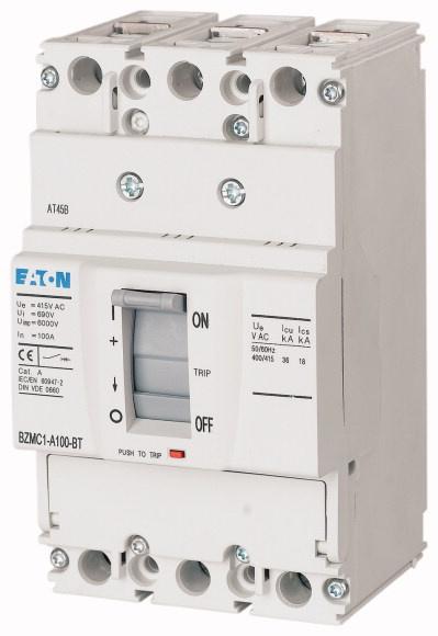 Interruptor Caja Moldeada 3x80A 25KA 380V - Interruptor Caja Moldeada 3x80A 25KA 380V