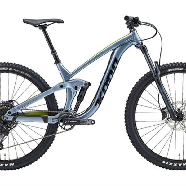 Bicicleta Enduro Kona Process 153 Cl Gloss Metal Blue 2021