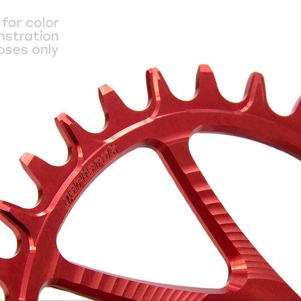 Corona Garbaruk Gxp (Boost) 32T Ovalada Red