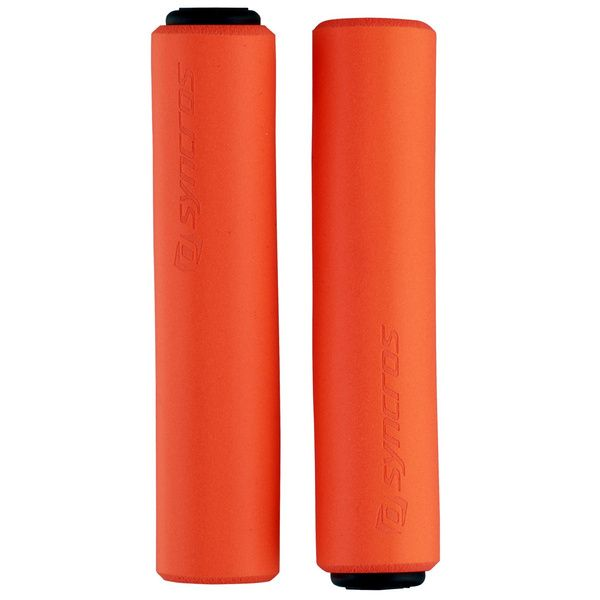 Puños Syncros Silicone Naranjos