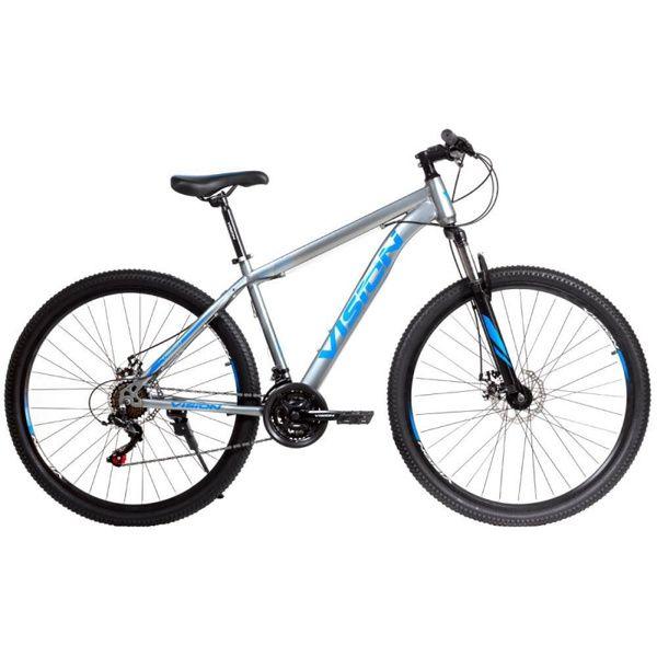 Bicicleta Mtb Vision Oxigen 29 Gris Azul