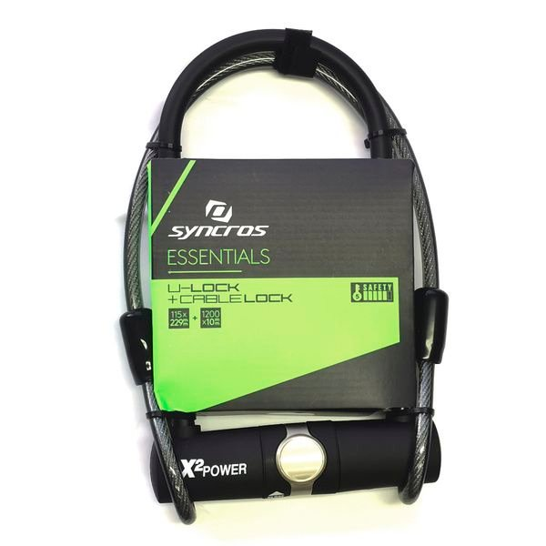 Cable de Seguridad Syncros U-Lock SL-09 115x229mm