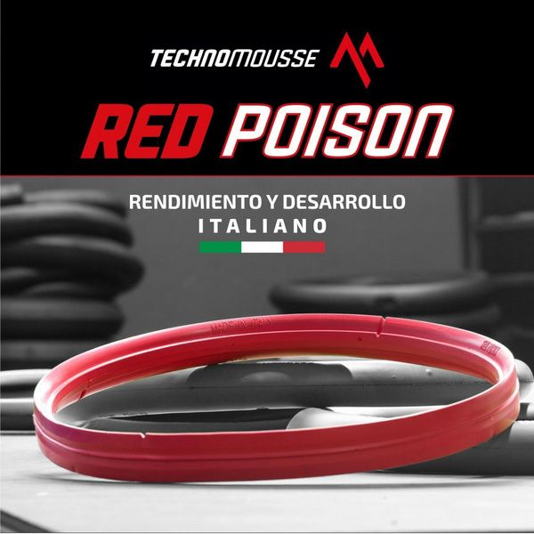 Protector De Llanta Mousse Mtb Red Poison 29 Rojo