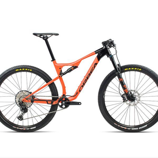 Bicicleta MTB Orbea OIZ H20 2021 Negra Naranjo