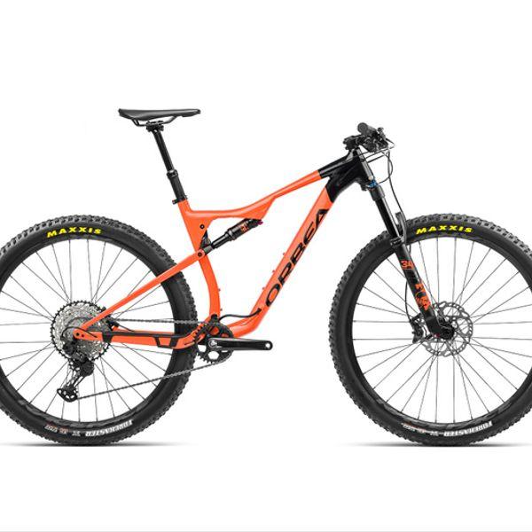 Bicicleta MTB Orbea OIZ H10 TR  2021 Negra Naranjo