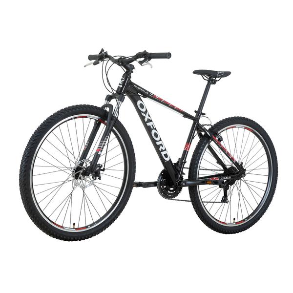 Bicicleta Oxford Emerald Negro/Rojo 29
