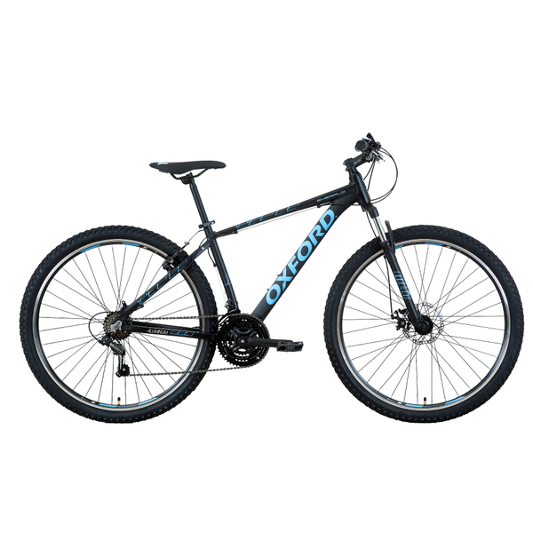 Bicicleta Oxford 29 Emerald Negro/Celeste