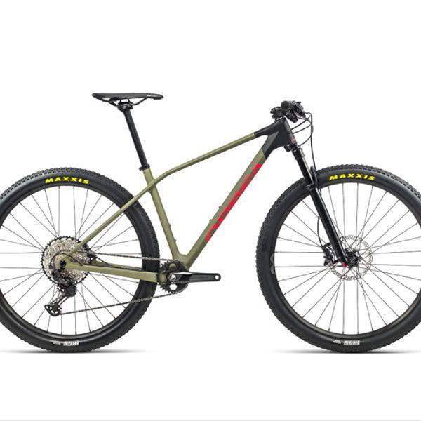 Bicicleta MTB Orbea Alma M30 2021 Verde Roja