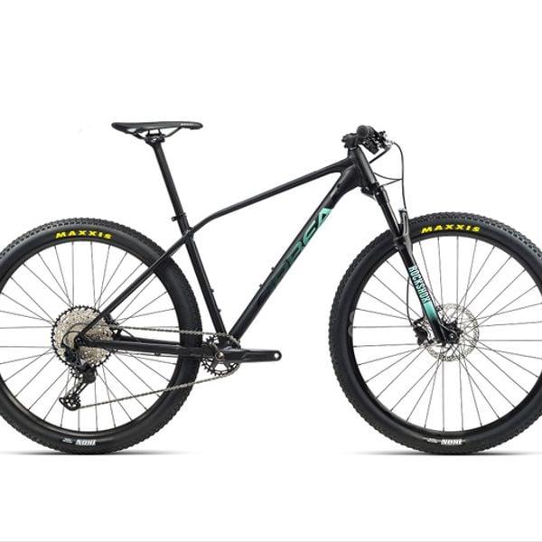 Bicicleta Orbea Alma H20 2021 Negro Verde