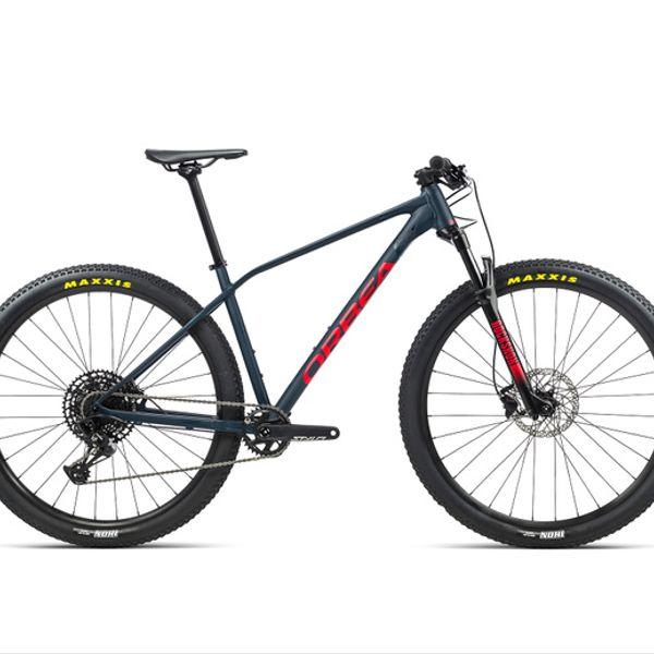 Bicicleta Orbea Alma H10 Eagle 2021 Azul Rojo