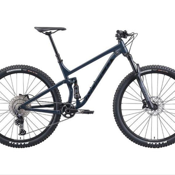 Bicicleta Norco Fluid Fs 2 Azul con Negro
