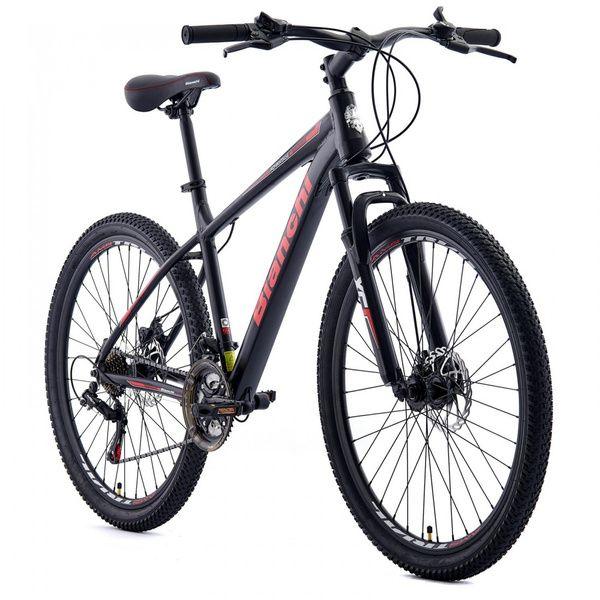 Bicicleta MTB Bianchi Advantage 27.5 Sx Negro semi Mate