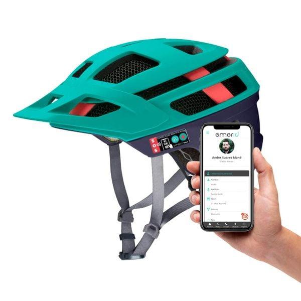 Identificador de Emergencias Emerid Helmet