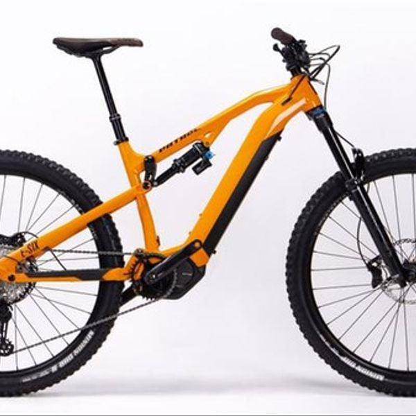 Bicicleta Electrica Patrol E-SIX Black Orange