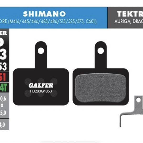Pastillas De Freno Galfer Standard Shimano Deore M395/445