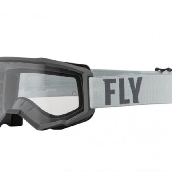Antiparras Fly Racing Focus Gris Negro