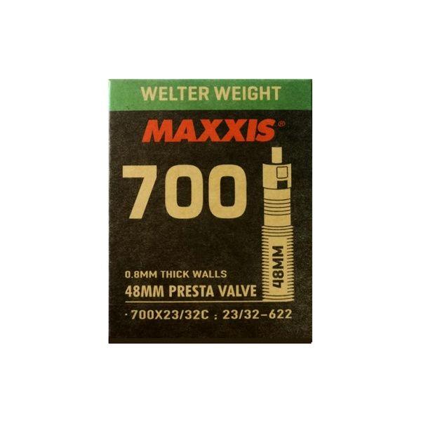 Camara Maxxis 700x23/32C Presta 48mm