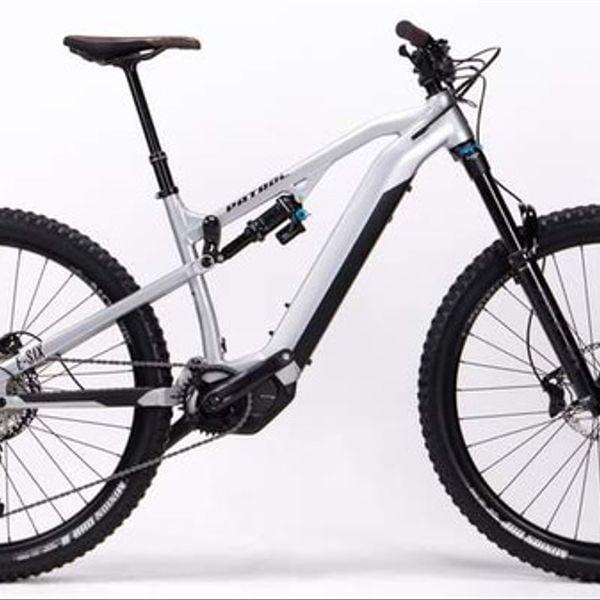 Bicicleta Electrica Patrol E-SIX Silver