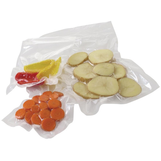 Pack 100 bolsas vacío lisas cook and chill 13x19 - 70 micras