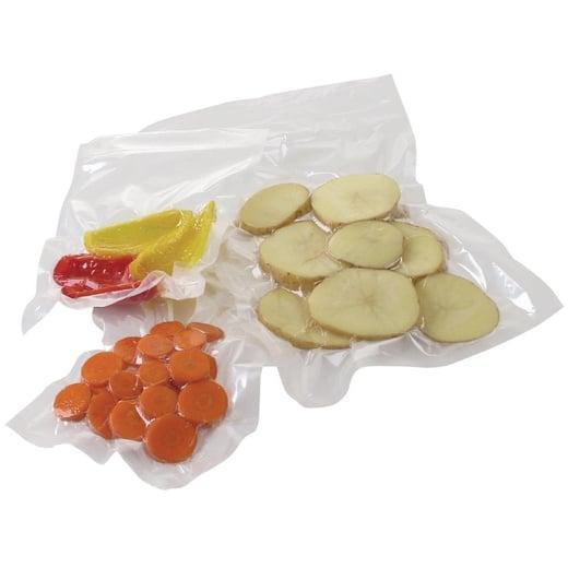 Pack 100 bolsas vacío lisas cook and chill 19x24 - 70 micras