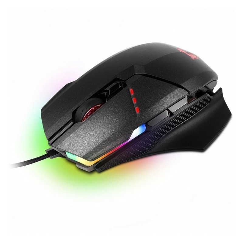 MOUSE GAMER MSI CLUTCH GM60, RGB MYSTIC LIGHT, INTERRUPTORES ESPECIALES OMRON