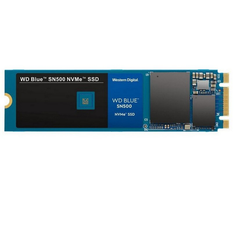 DISCO SSD 500GB WD BLUE SN550 NVME M.2 2280 PCI-EXPRESS 3.0 X4 3D NAND