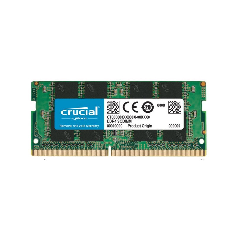MEMORIA RAM CRUCIAL 8GB DDR4 2666MHZ, NOTEBOOK SO-DIMM, 1.2V