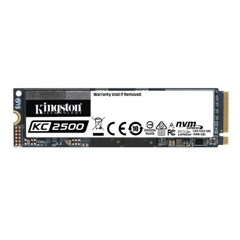 DISCO SSD KINGSTON KC2500, 1TB M.2-2280, PCIE 3.0 X4 NVME