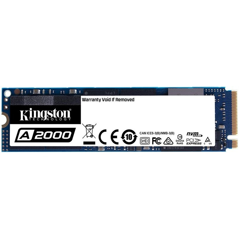 DISCO SSD 250GB KINGSTON A2000, M.2 2280, NVME™ PCIE