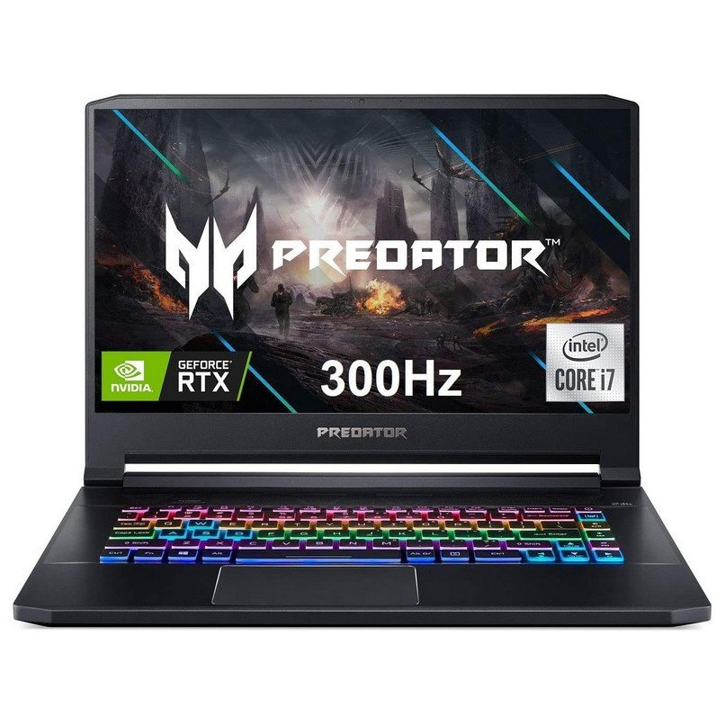 ACER PREDATOR TRITON 500 CORE I7 10ª GEN NVIDIA RTX 2070 SUPER MAX Q 16GB RAM 512GB SSD 15,6 FULL HD G-SYNC 300HZ
