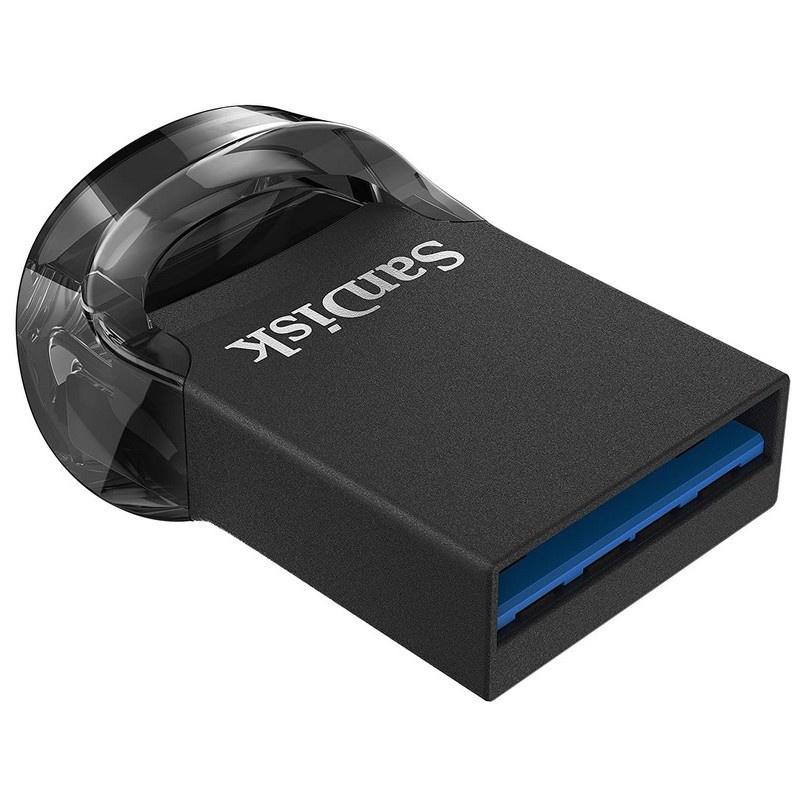 PENDRIVE SANDISK 64GB ULTRAFIT 130MB/S NEGRO USB 3.1 TIPO A