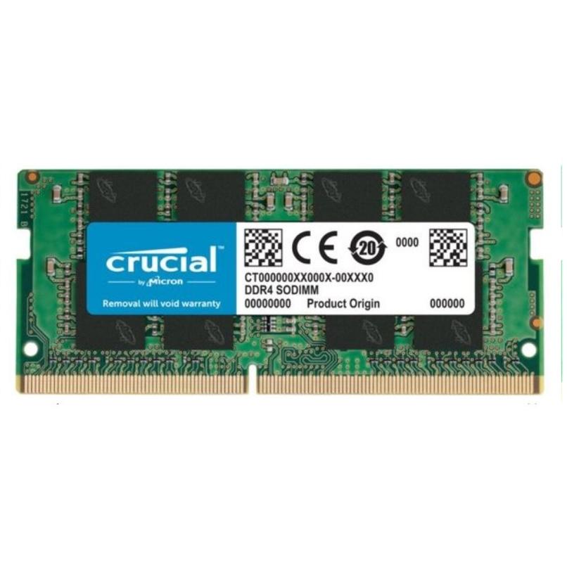 MEMORIA RAM CRUCIAL 8GB DDR4 2666MHZ, NOTEBOOK SO-DIMM, 1.2V