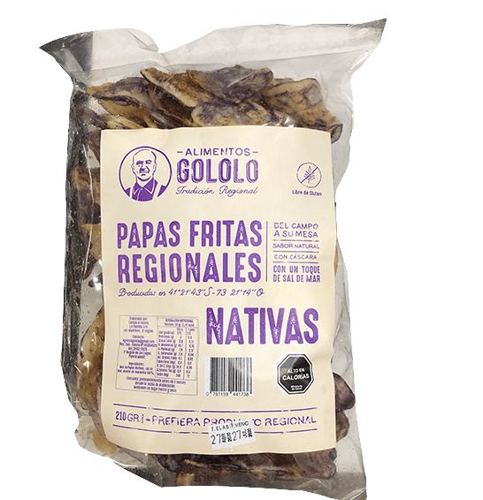 Papas Fritas Nativas Con Sal 210g