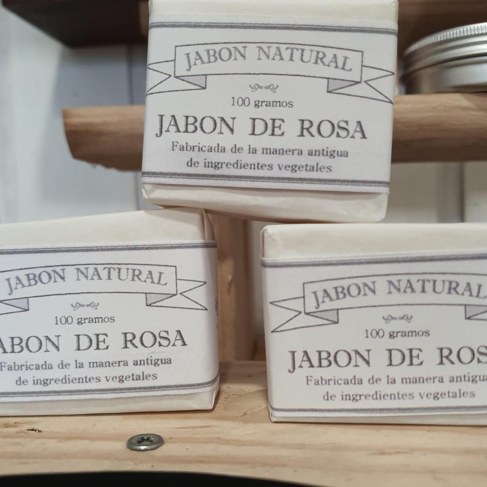 Jabón Hojas Verde Rosas/Lavanda 60g