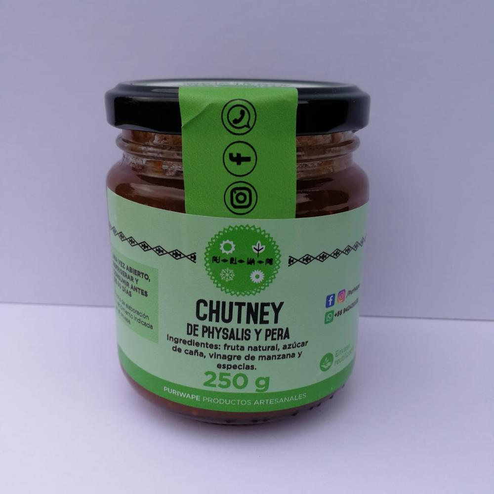 Chutney de Phisalys y Pera 250g