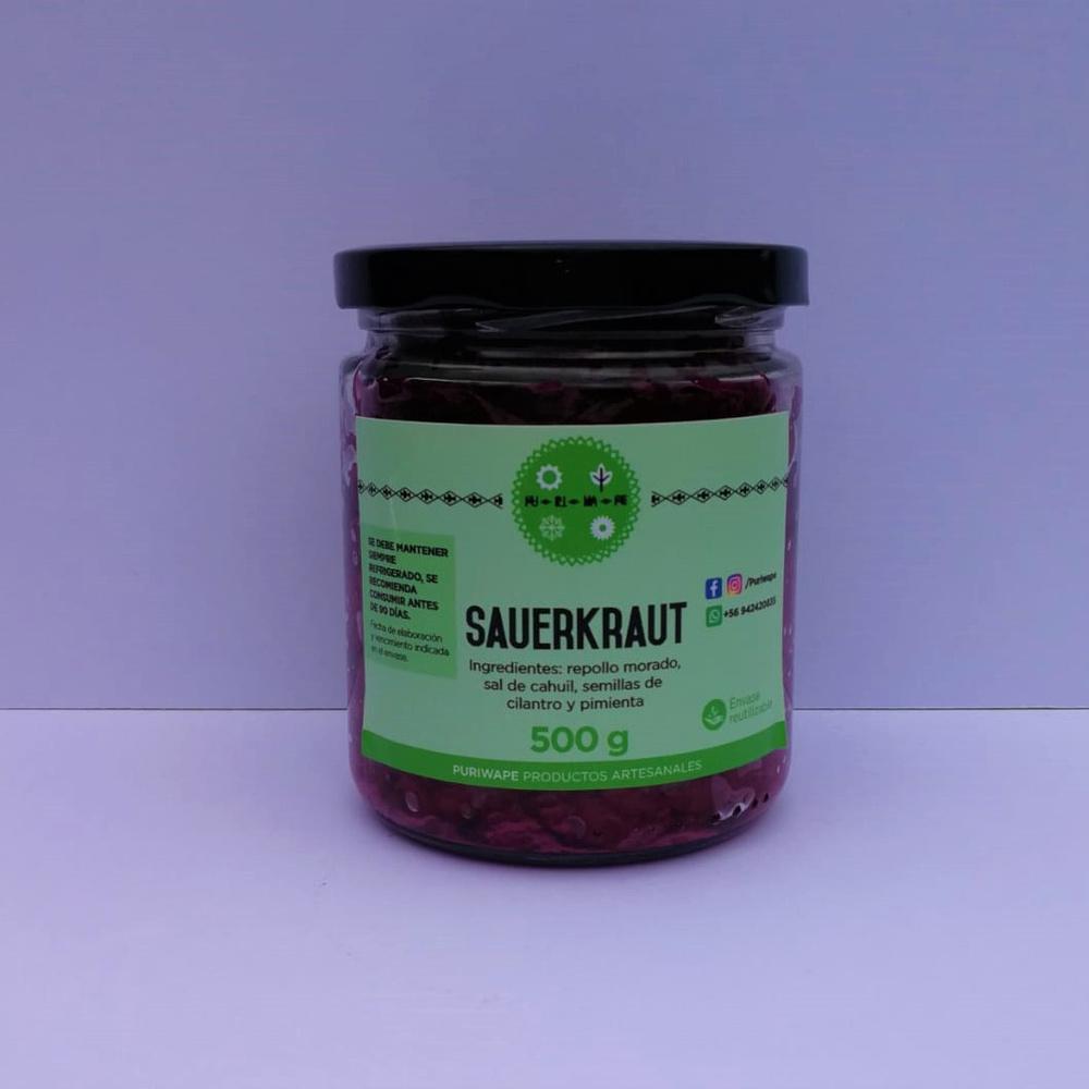 Sauerkraut de Repollo Morado 450g