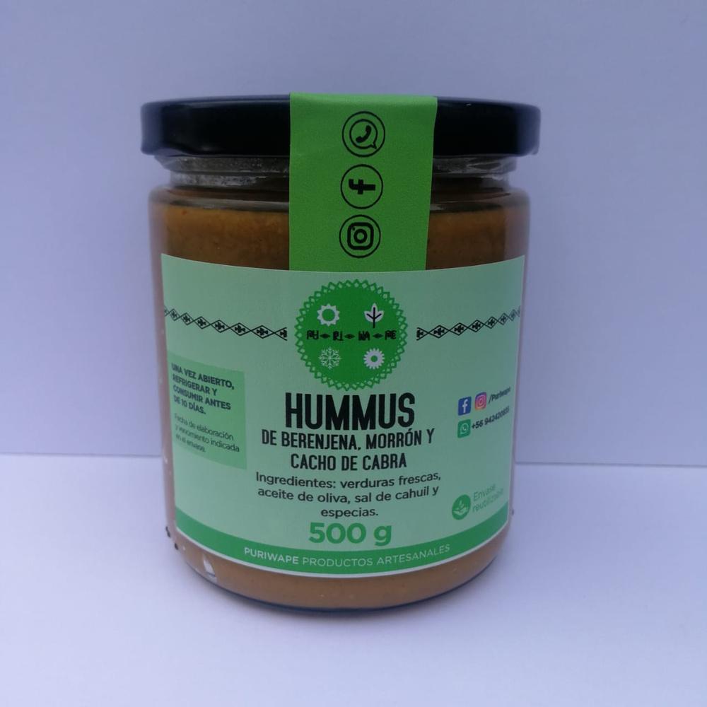 Hummus de Berenjena Picante 450g