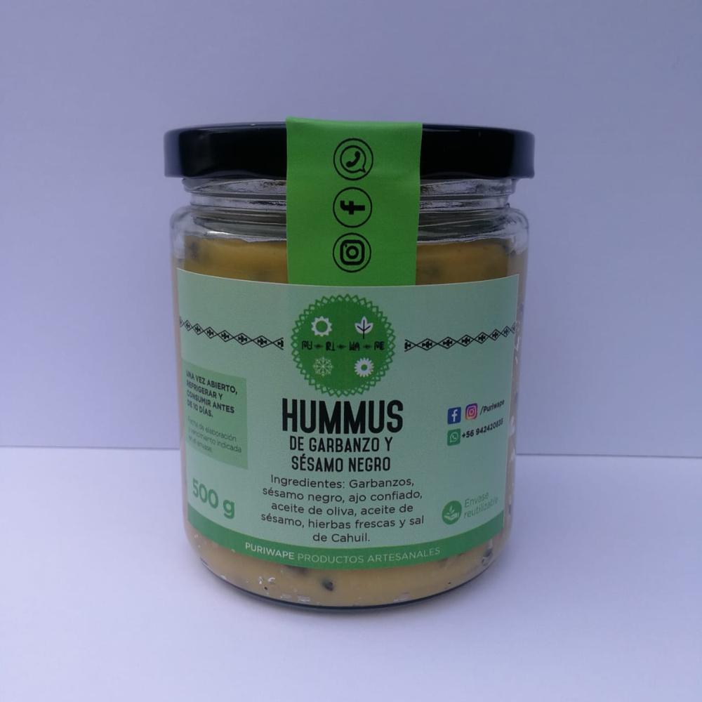 Hummus Garbanzos y Sésamo Negro 450g