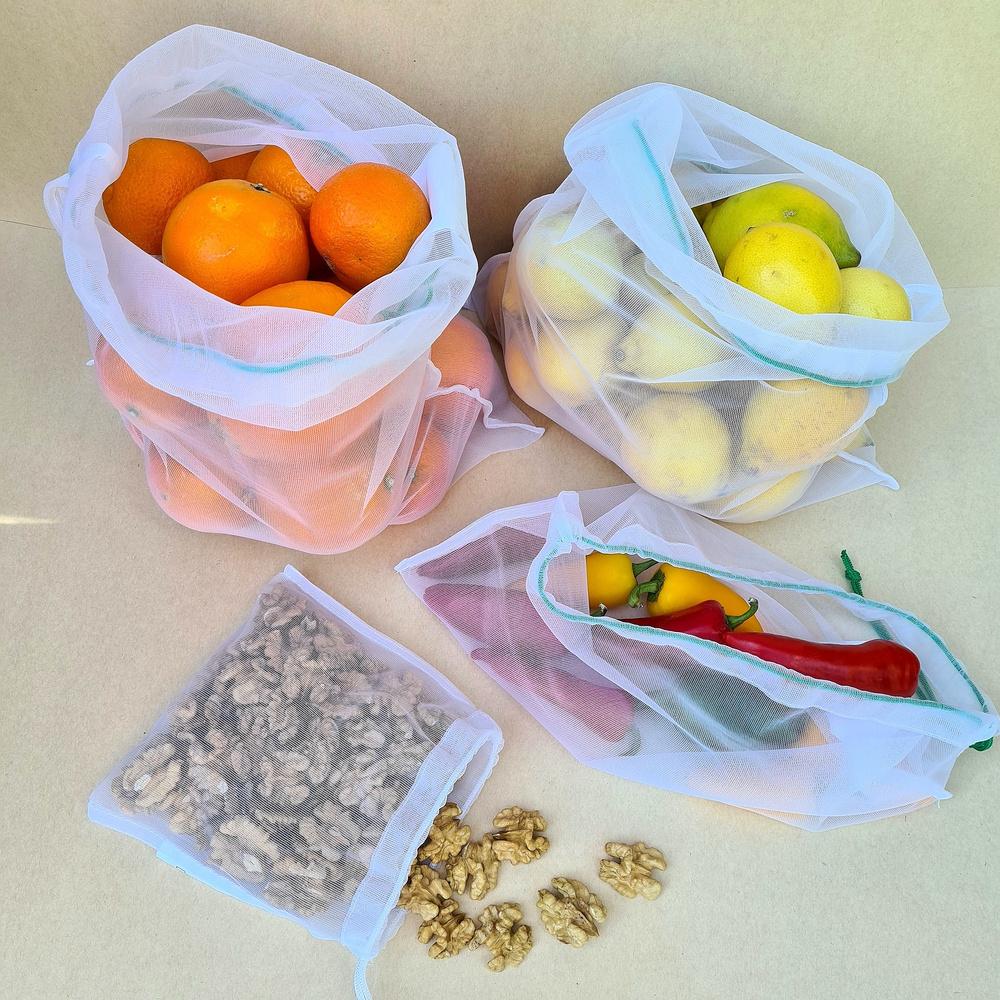 Pack 4 Bolsas Reutilizables