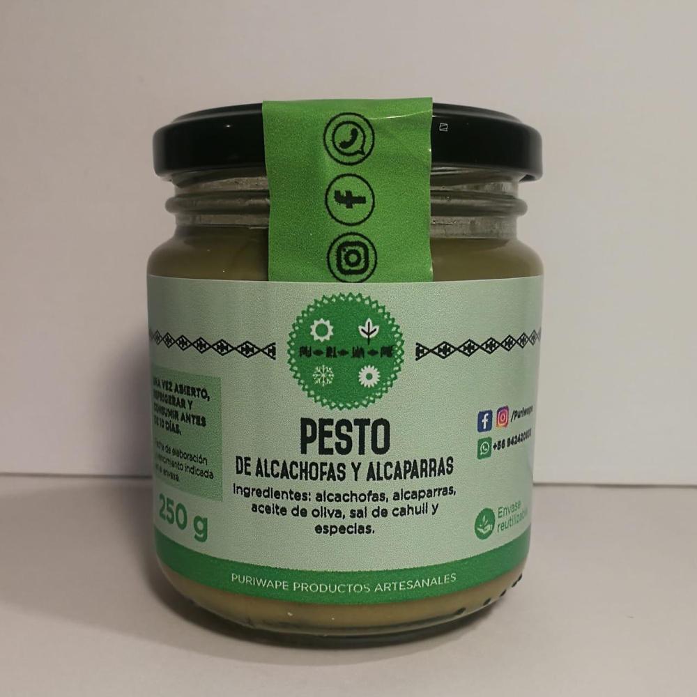 Pesto Alcachofa Alcaparra 250g