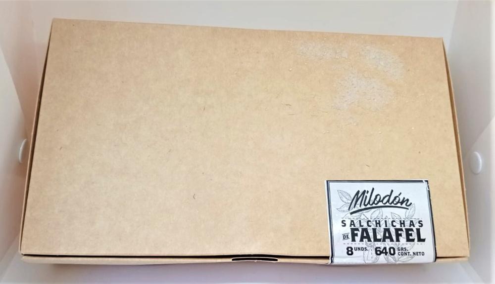Salchicha de Falafel 640g