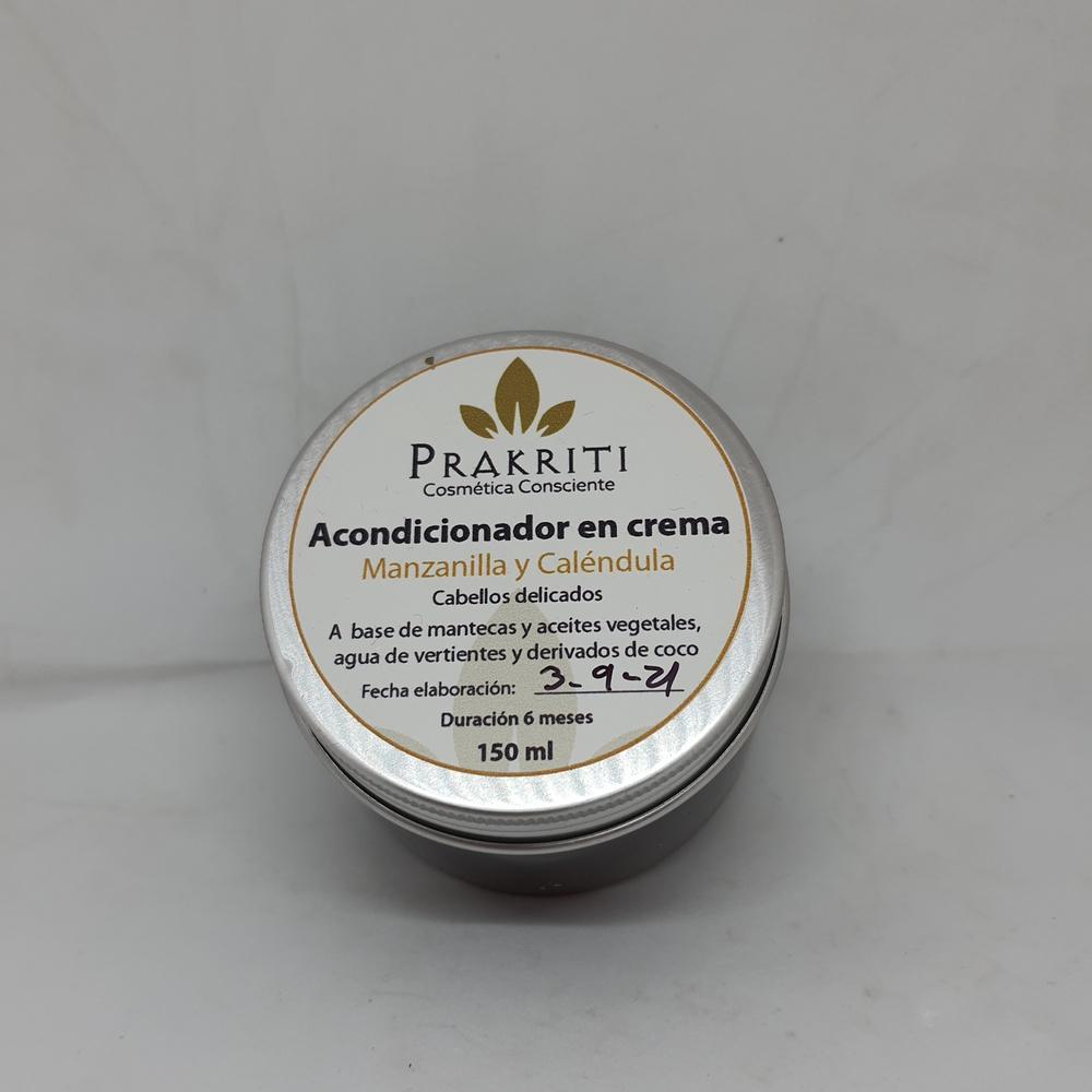 Acondicionador en Crema Manzanilla y Caléndula
