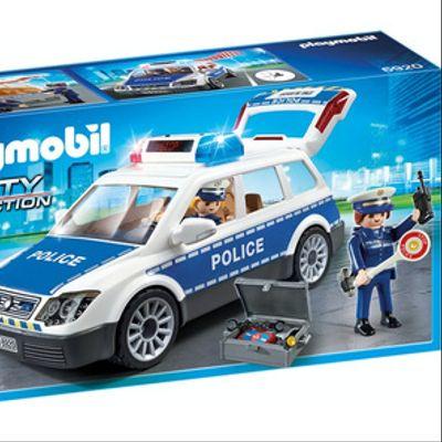 Playmobil Patrulla Con Luces Y Sonido