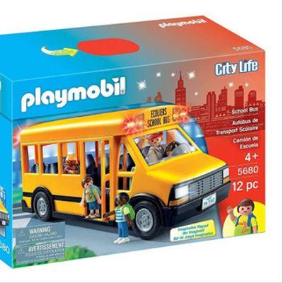 Autobus Escuela Playmobil