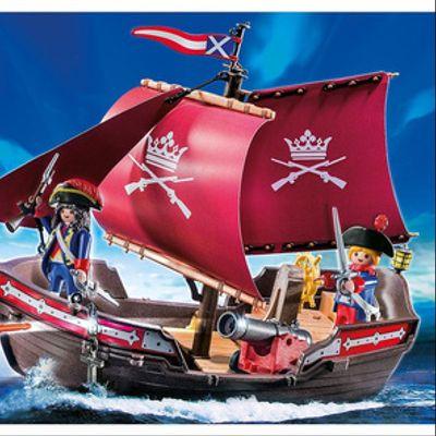 Barco Patrulla De Soldados