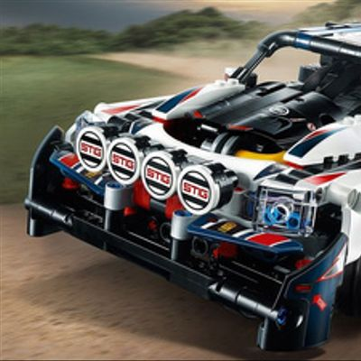 Auto De Rally Top Gear Controlado Por App