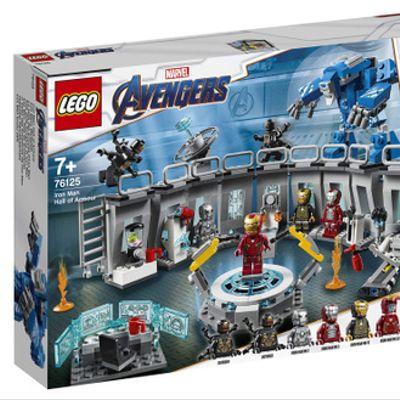 Iron Man: Sala de Armaduras