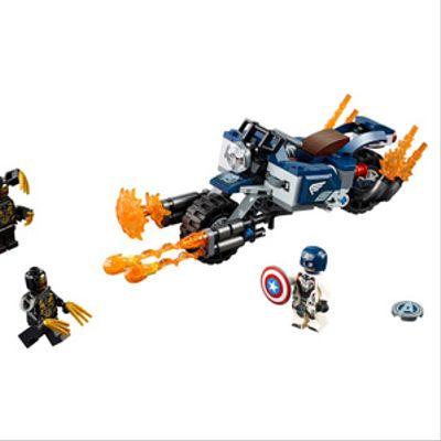 Captain America: Ataque de los Outriders