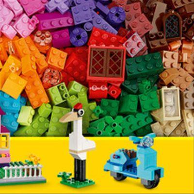 Caja Grande De Ladrillos Creativos Lego
